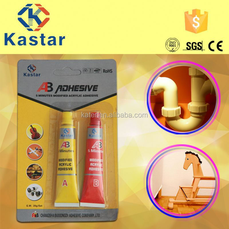 high drying ab epoxy glue for promotion