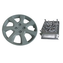 10 years no complain plastic injection mold for car wheel cover