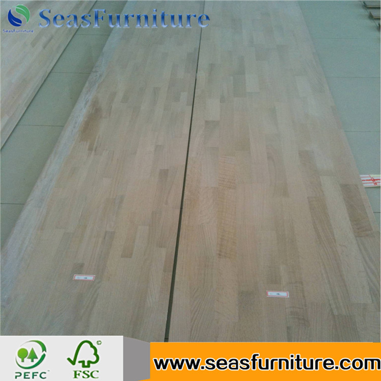 Red oak finger joint board laminated board edge glued panel