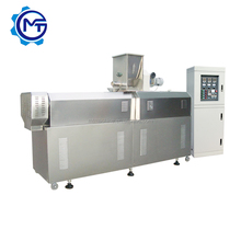 twin screw extruder equipment for floating fish food pellet
