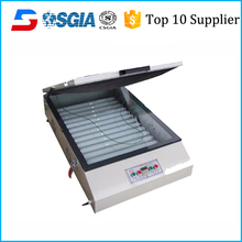 Large size screen printing exposure machine for making screen frame plate