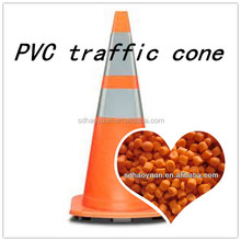 raw material pvc traffic cone Virgin resin PVC granules compound