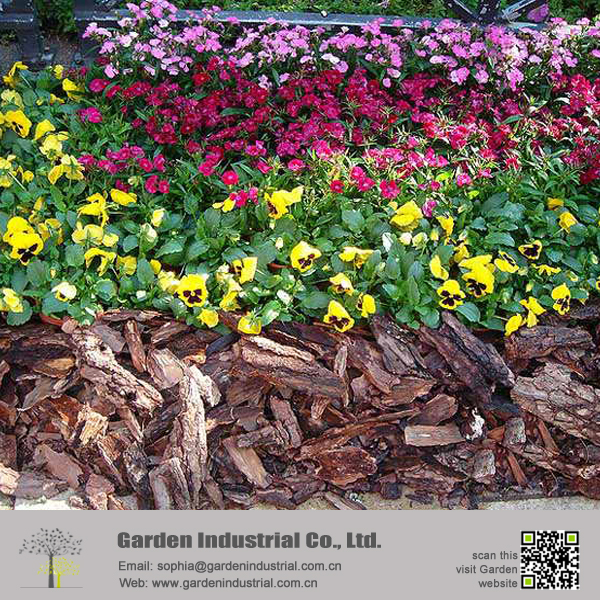GARDEN Wood Bark Pine Mulch Chips