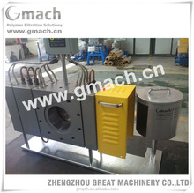 Automatic belt screen changer for pp rope making machine