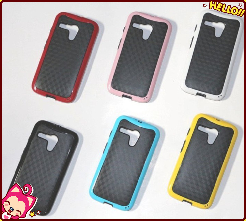 Wholesale Stereo PC TPU Case for Motorola Moto g Back Cover Case