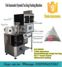 Automatic nylon mesh herb tea packing machine