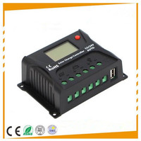 IP30 10A 12/24V Auto Solar Panel Battery Charger Controller