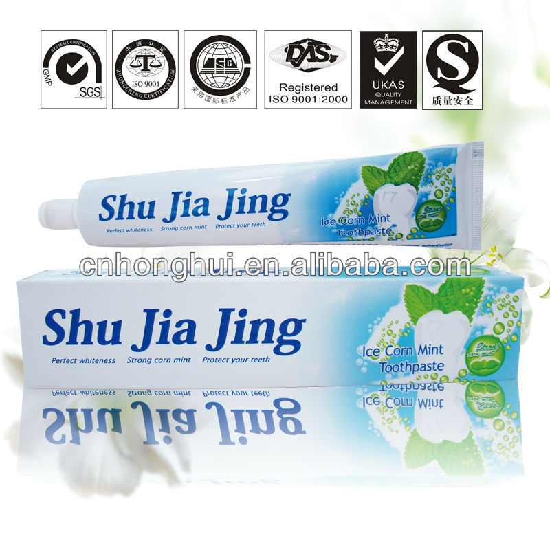 Strong Corn Mint Ice Teeth paste of Shu Jia Jing Brand
