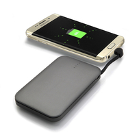 Aluminium Case 6000mAh / 5600mAh mobile phones power bank with led