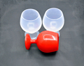 Attractive silicone red wine glass wholesale