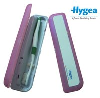 Portable UV toothbrush sanitizer for travel UV sterilizer HH20 99.9% bacteria eliminate test by SGS Hot sale Fashion