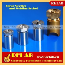 High Quality Full Brass Solid Cone Flow Water Nozzle