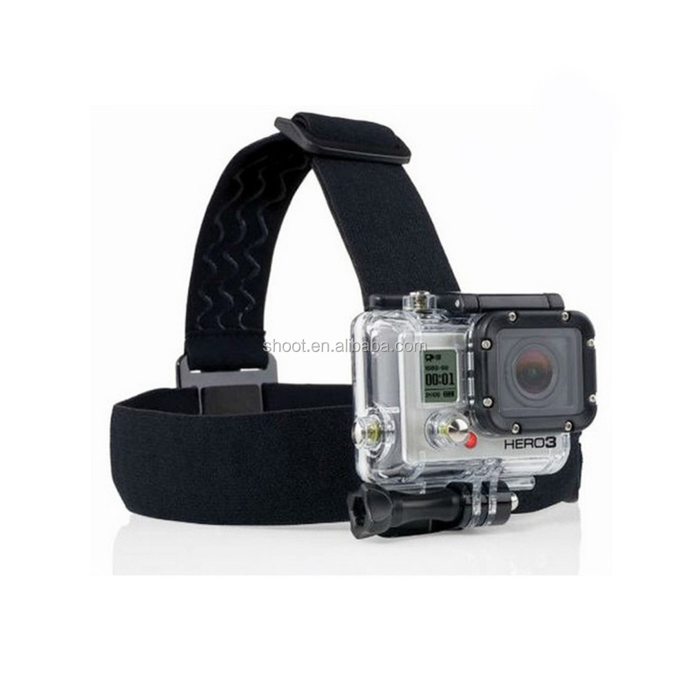 SHOOT Go Pro Camera Accessories 44-in-1 for GoPros Bundle Accessories Kit Set for GoPro 6 5 4 3+/3 2 1 Sj4000 XiaoYi Camera