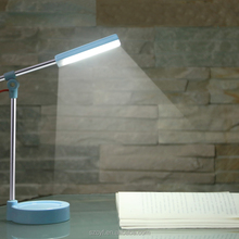 durable hanging flexible rechargeable steel led desk lamp