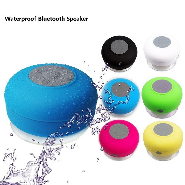 2015 Alibaba Best Selling Mushroom Sucker Waterproof Bluetooth Speaker for iphone 6