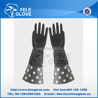 Waterproof cleaning extra long household glove CE Certificate