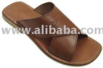 Men's Leather Slipper
