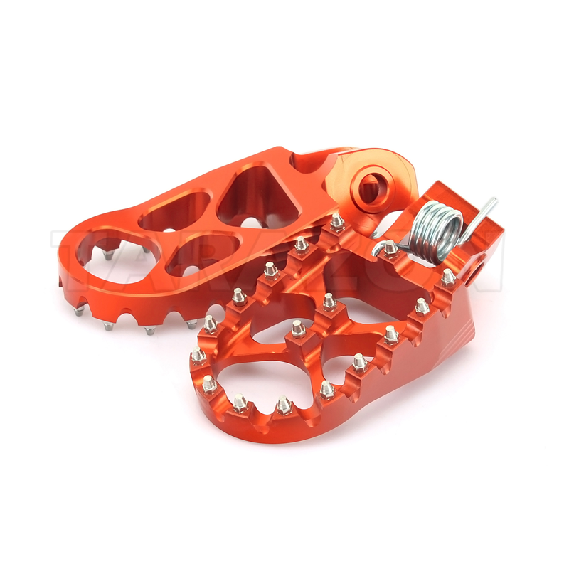 High performance ally aluminum motocross CNC foot pegs for sale