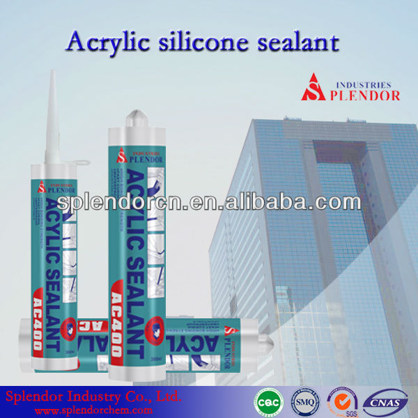 High Quality All Purpose Paintable Acrylic Silicone Sealant