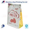 Customized dry fruit Jujube Packaging Flat Bottom Plastic Bag