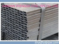 Hot dip galvanized SQUARE AND RECTANGULAR STEEL PIPES/ GI Pipe 20*20-500*500 ASTM Standard