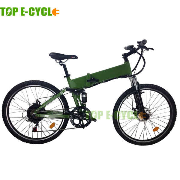 TOP E-cycle mountain e-bike electric folding bike for sale