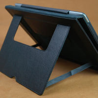China manufacturer stylish flip leather case with kickstand for ipad 4