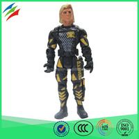 OEM factory customized american soldier military action figure toys for kids