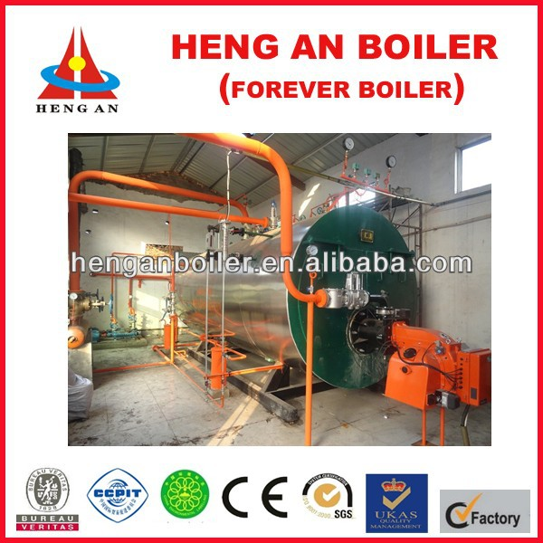 gas steam boiler for cooking