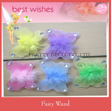 Nylon floss Butterfly fairy wand party costumes