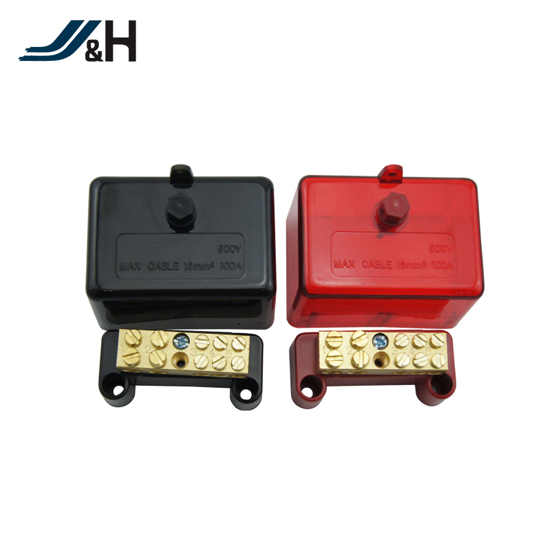made in china australian standard 350A 120mm Aus nz fj png 350A 7holes plastic electrica cable link terminal junction box