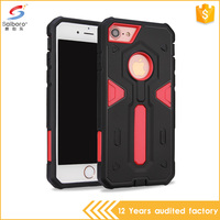 Sublimation tpu pc material cover for iphone 7 hot selling case for iphone 7