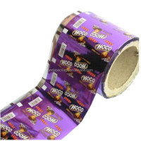 plastic aluminium foil candy packaging film roll for food
