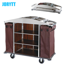 all types of laundry trolley for hotel room housekeeping claening trolley service cart