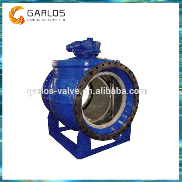 2PQ940H Industrial electric actuator two way semi ball valve