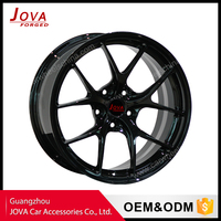 TOP quality black lack rims for car trucks discount wheel and tire package