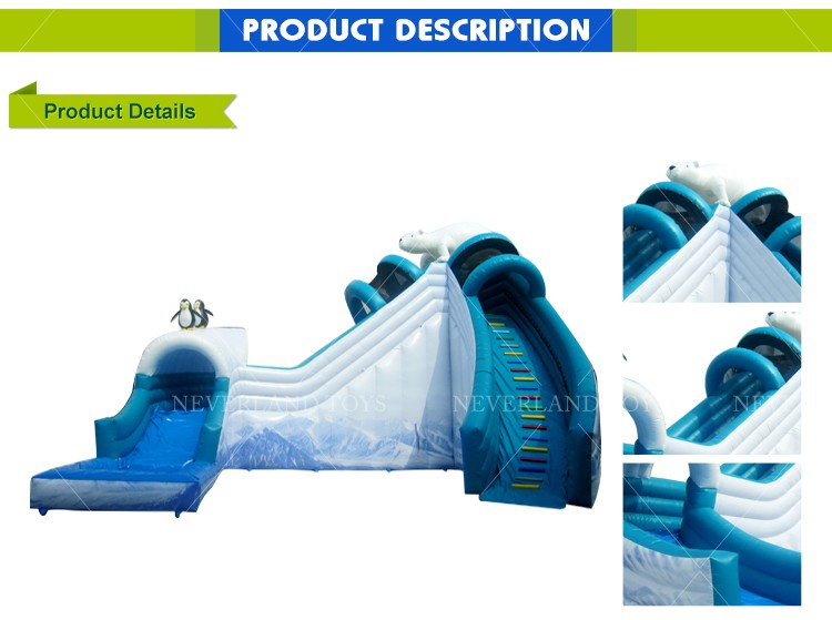 Purchase Outdoor Giant Inflatables Near Me Prices World Water Park Slides Inflatable Bear Slide For Adults