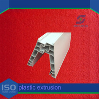 extruded plastic u channel/plastic trim molding