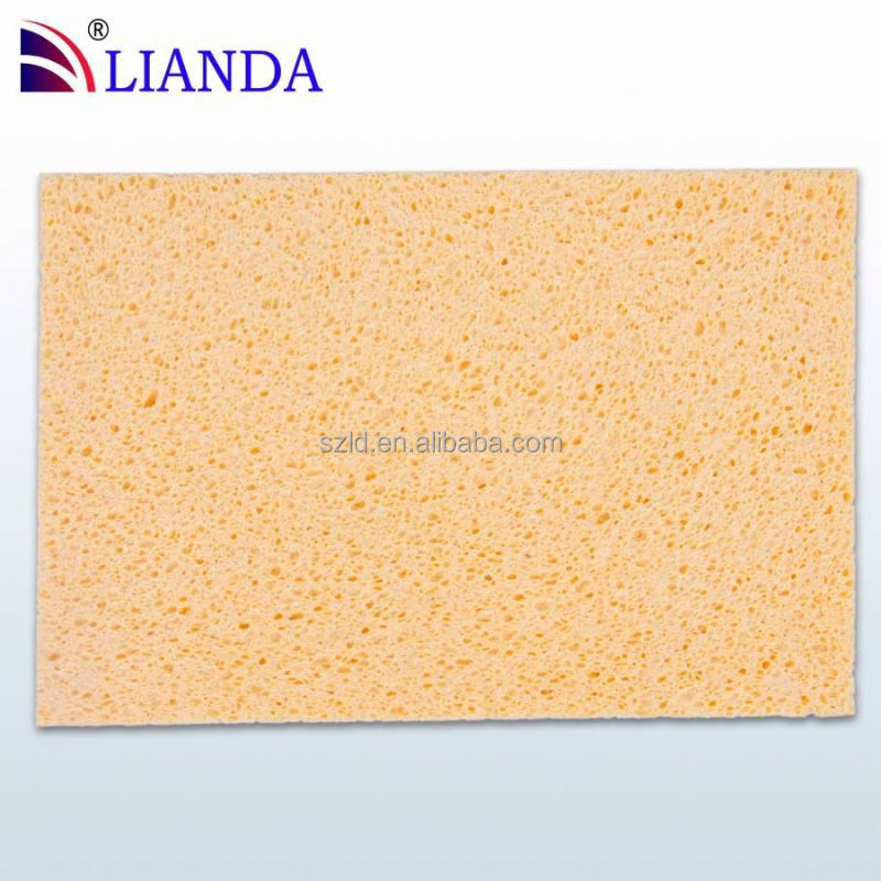 kitchen compressed cellulose sponges scouring pads