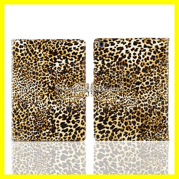 Floral Flip Leopard Animal Folding Folio Case Cover Stand for iPad Mini & Retina for iPad air 5/4/3/2 Factory Price Best Quality