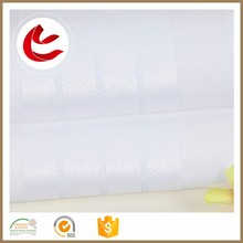 Hot high quality 128gsm grid polyester white stain luxury spain fabric for curtain