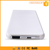 Low Price 5000mah Smart Mobile Power Bank Made In China, Slim 5000 mah Battery Power Bank