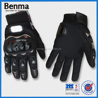Factory Sell Black Custom Motorcycle Racing Gloves