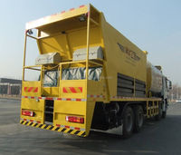 8 M3 Bitumen Tanker Synchronous Chip Sealer Truck,Synchronous Chip Spreader