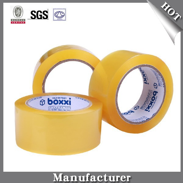 38-90micron Clear Yellowish Strong Adhesive OPP Sealing Tape
