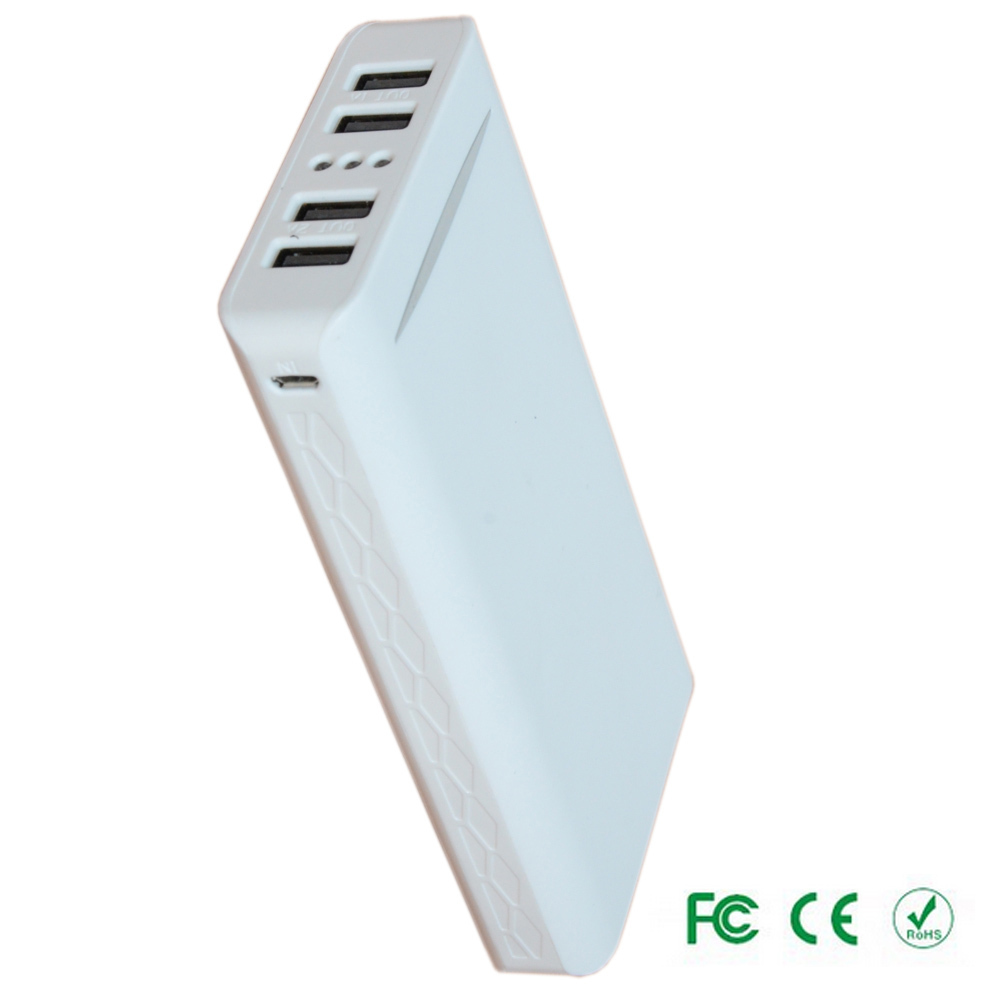 2015 Fashionable power bank high capacity 20000mah portable restaurant cell phone charging station