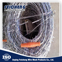 China Manufacturer Wholesale Cheap Barbed Wire,barbed wire price per roll,low price barbed wire roll fence