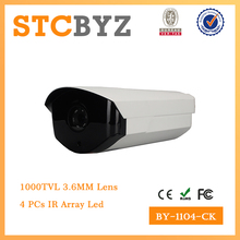 IP66 waterproof 1000tvl bullet CCTV camera