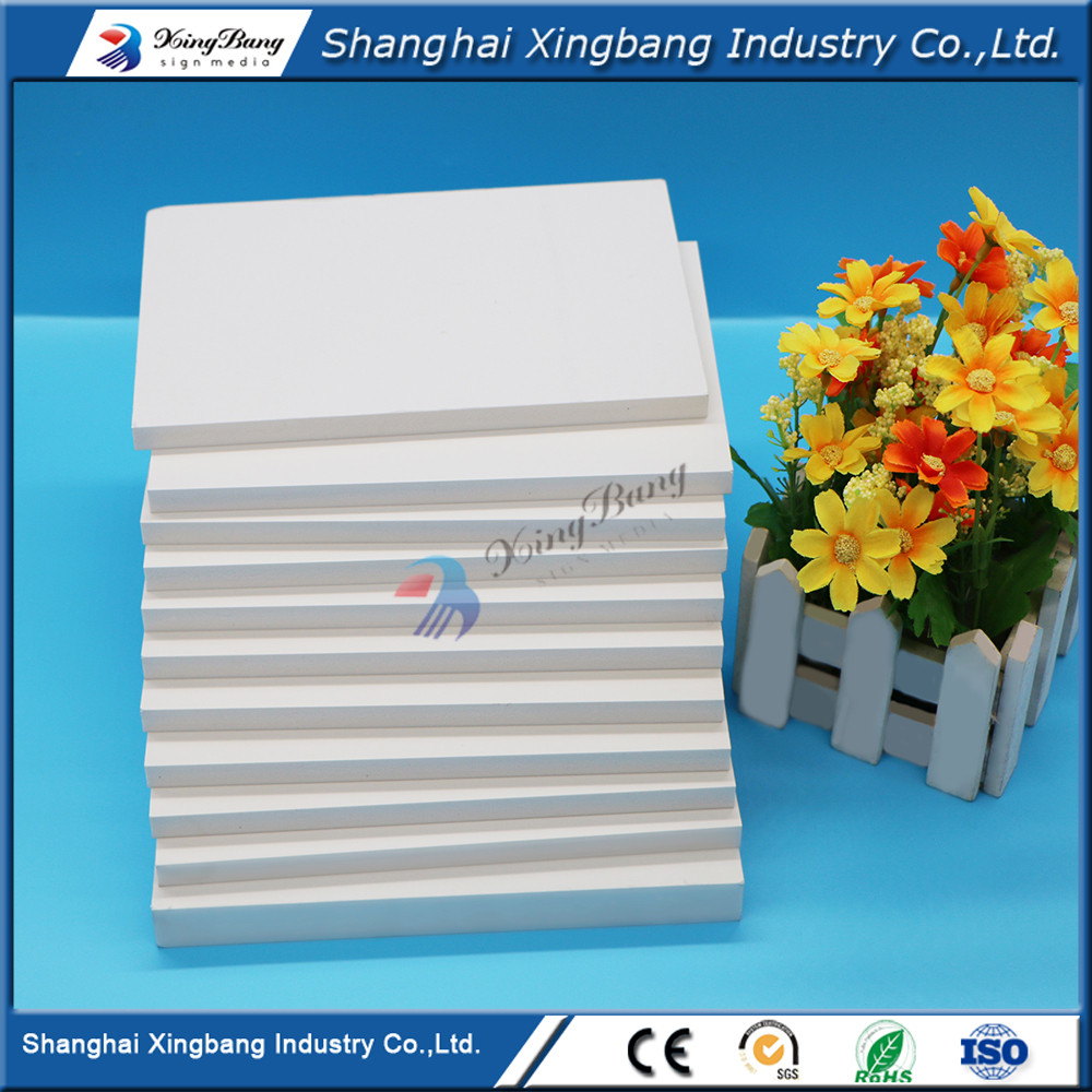 ISO&SGS approved high quality high density pvc inner foam sheet