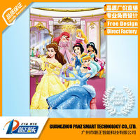 2015 beautiful Cartoon animation 3D picture for Gift or decoration